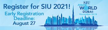 Register Now for SIU 2021